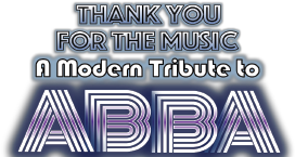Thank You for the Music - A Modern Tribute to ABBA Logo